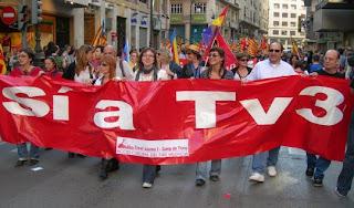 Sí a tV3 per València el 5 de maig del 2007