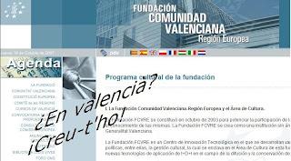 El valencià, amagat per Francisco Camps