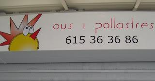 Ous i pollatres pel valencià.