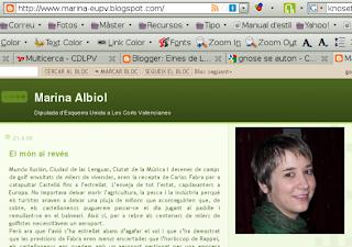 Marina Albiol parla sense faltes d'ortografia