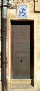 La porta de la parròquia