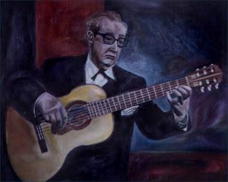 Andrés Segovia - 80 cm x 100 cm - ano 2000
