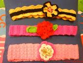 FREE GIFT - 3 Crochet Handmade Hairband