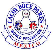 CACOY DOCE PARES WORLD FEDERATION . MEXICO