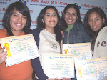 Aymn, Jacqueline, Milagros y Mara Isabel.
