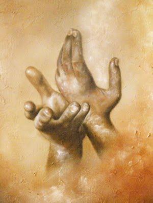 En route... en Vie: Ouvre tes mains vers demain