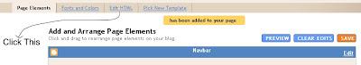 Click Edit HTML screenshot