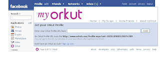 Access Orkut through Facebook app