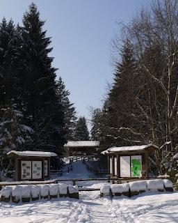Wildbeobachtungs-Hütte im Forstenrieder Park