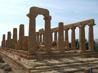 Bild 2: Südostseite Hera- bzw. Junotempel Agrigent