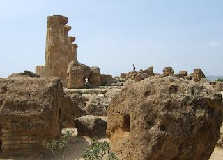Bild 10: Herkules- bzw. Heraklestempel Agrigent