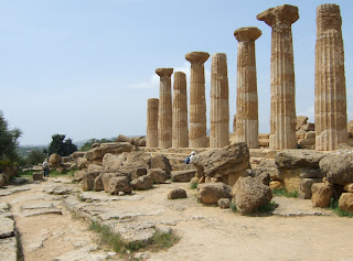 Bild 11: Herkules- bzw. Heraklestempel Agrigent