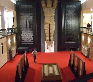 Bild 4 Telamon vom Olympieion im archäologischen Museum Agrigent