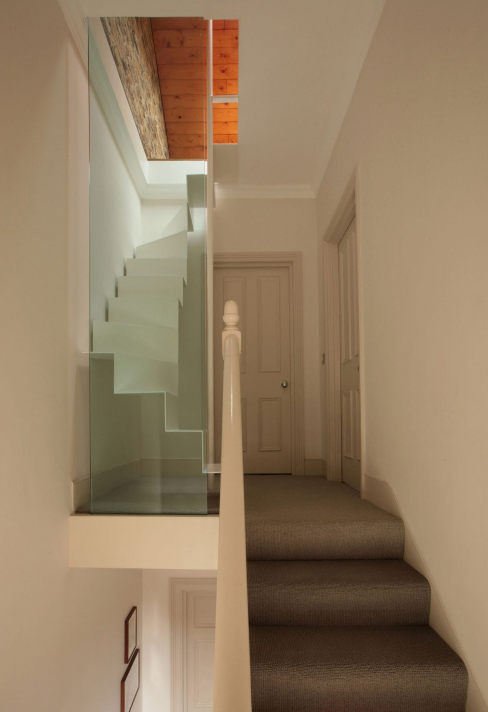 Craft1945 creative attic access - Staircase for small spaces decor ...