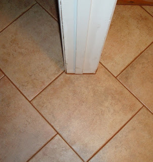 Basement ceramic tile