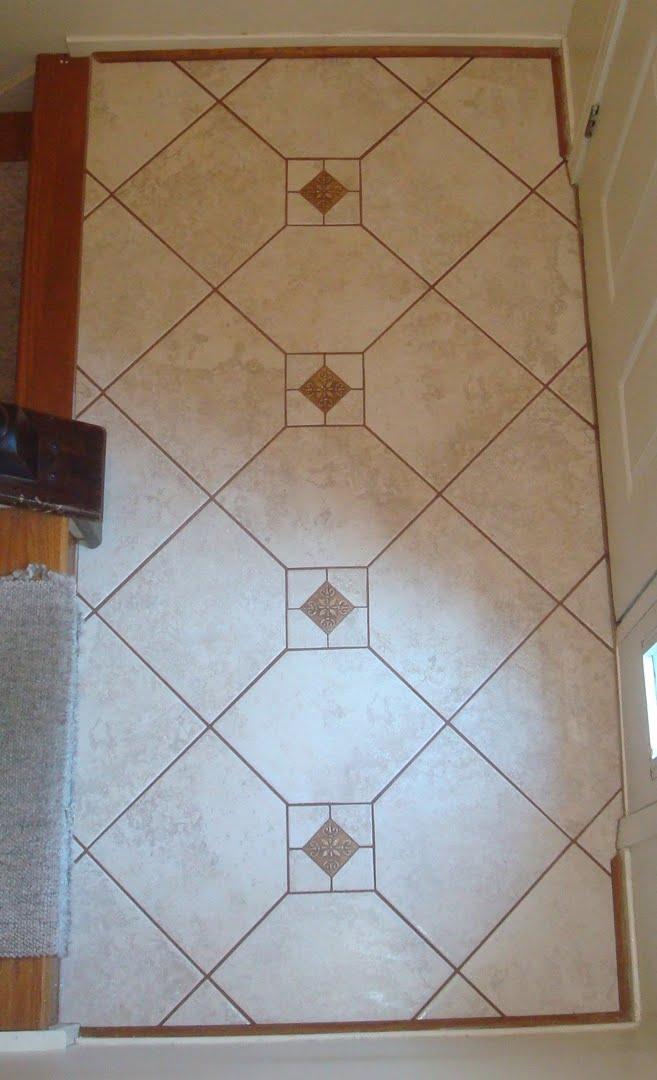 Foyer Porcelain Tile : Straight edge tile porcelain foyer