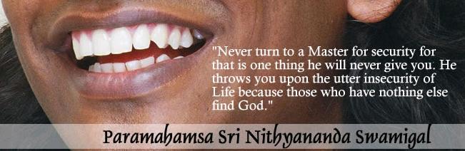 Thus Spake Nithyananda!