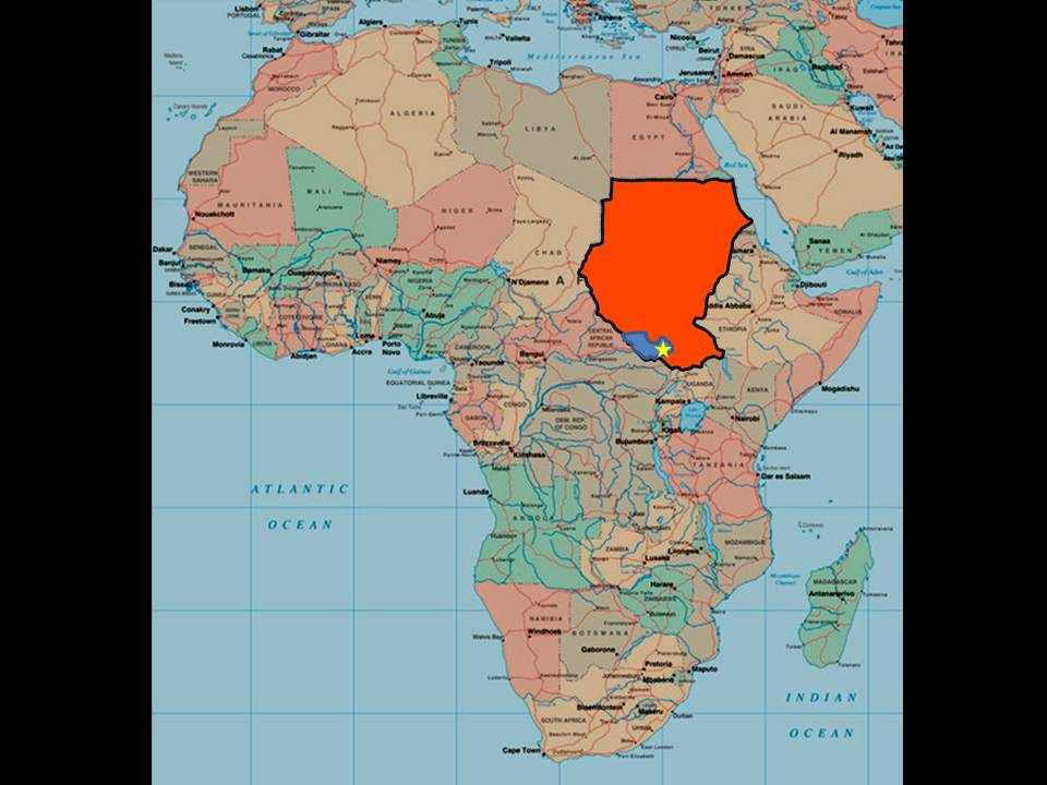 Sudan Seed Planting Project  Travel And Location
