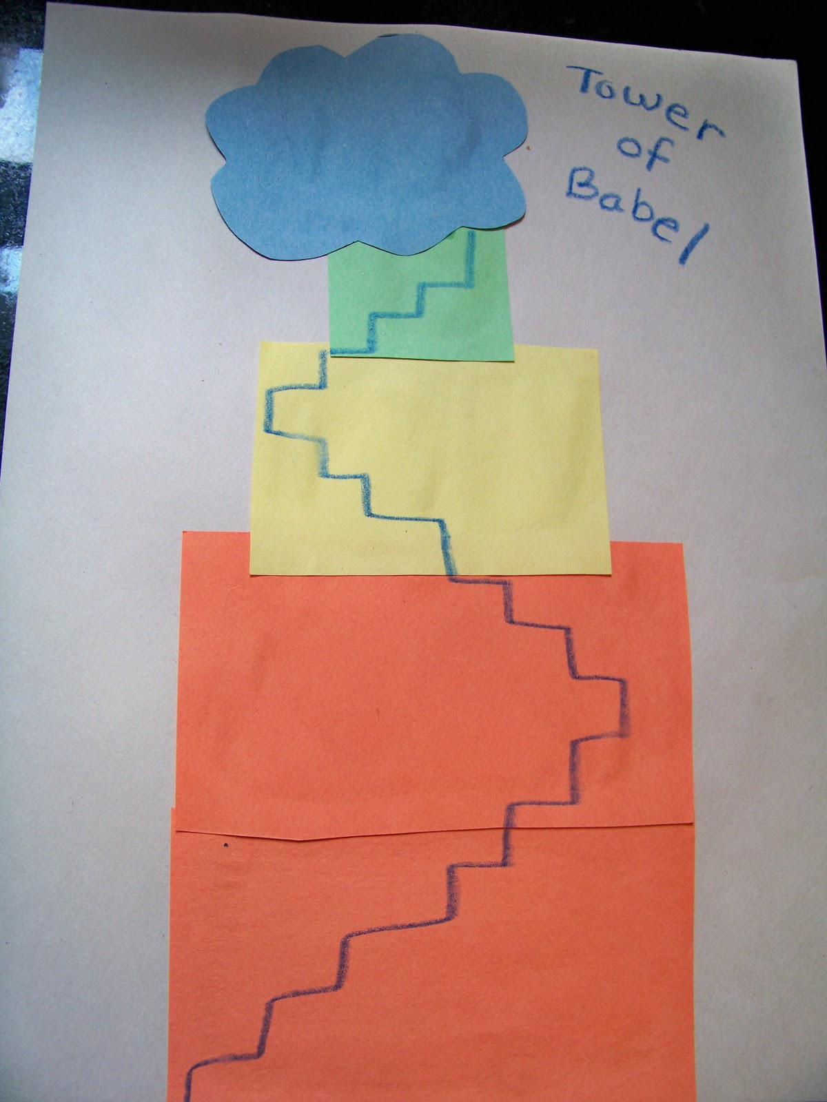 Tower Of Babel Craft Ideas http://reigningitin.blogspot.com/2010/08/jesus-storybook-bible-by-sally-lloyd.html