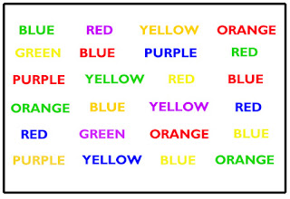 The Stroop Test Is A Psychological Tool Which Is Often Used To Assess Attention Problems