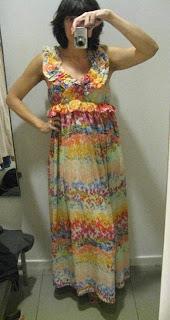 H&M garden collection maxi dress @ Fashion Herald