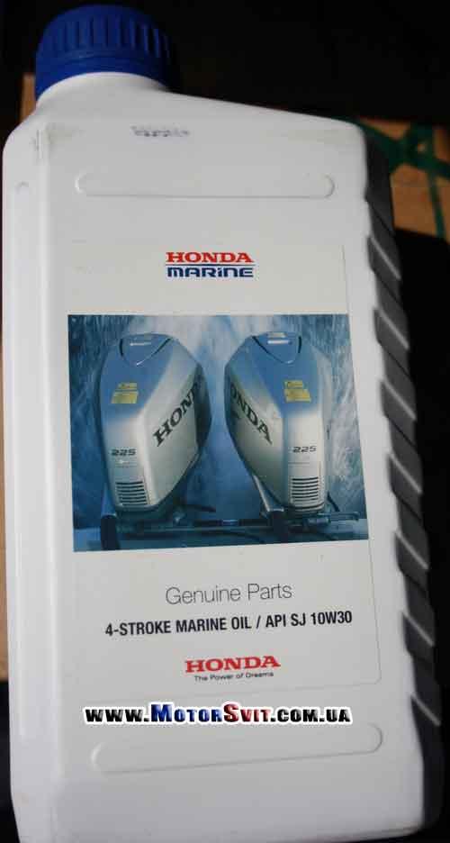 масло honda marine 5w30 для лодочных моторов