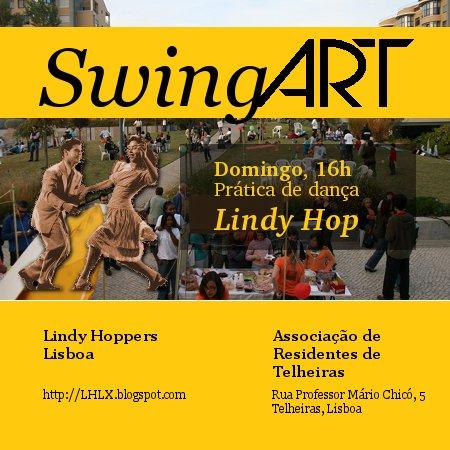 SwingART - Prática de Lindy Hop na ART às 17h