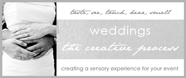 Weddings the Creative Process