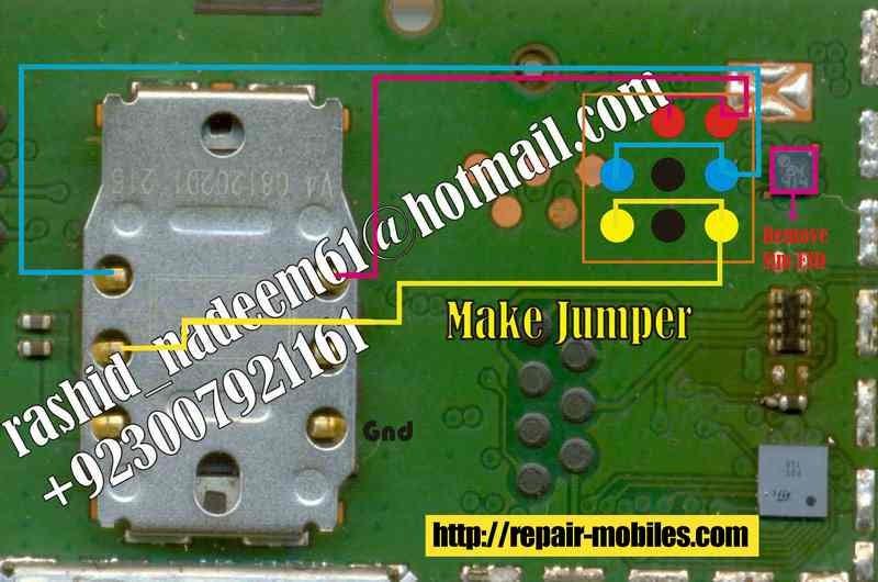 Mobile Repairing Pictures  Nokia 1202