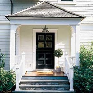 Entryway roof simple home decoration for Front door roof designs