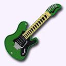 Ecusson Guitare Musique