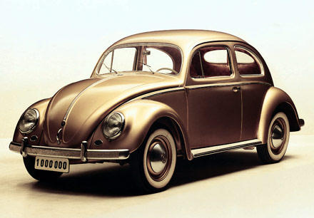 10 artefakata ili fenomena kojima biste obelezili 20. vek Vw-beetle