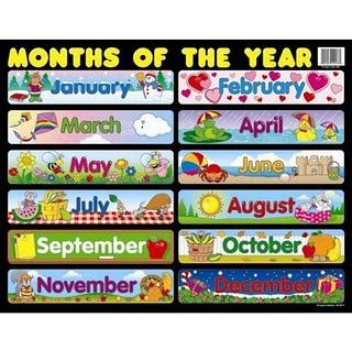 Months of the Year Song | kindergarten - calendar | Pinterest ...