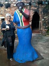 Miriam Makeba, Credo Mutwas Village Soweto