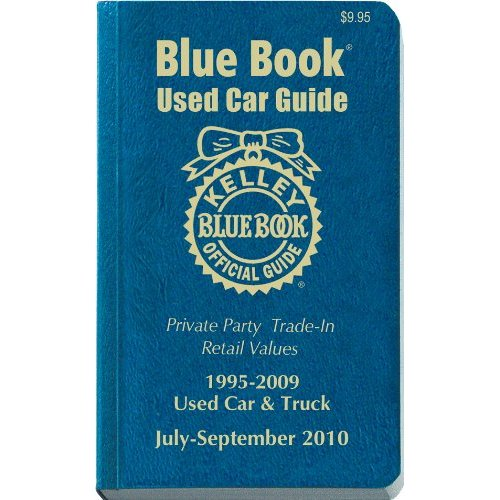 Used Car Prices Guide Blue Book