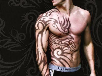 La palabra tatuaje proviene de la palabra inglesa «tattoo»,