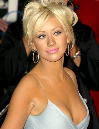 Sexy Singer Christina Aguilera Hot Picture amp Biography navel show