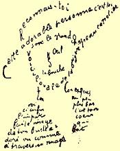 Un ejemplo de caligrama