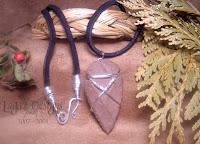 Flint Arrowhead Necklace