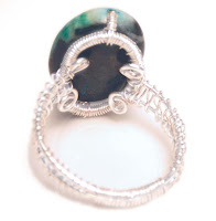 Turquoise Ring Back