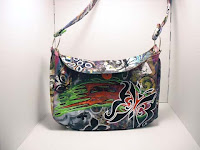 Butterfly Graffiti Totem purse front