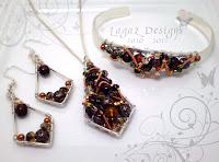 Copper Falls Set by Lagaz Designs