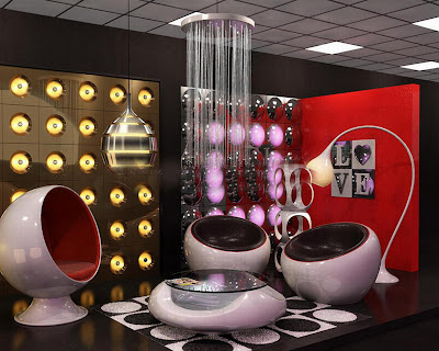 MiCON Design: Latest retro futuristic designed interior space