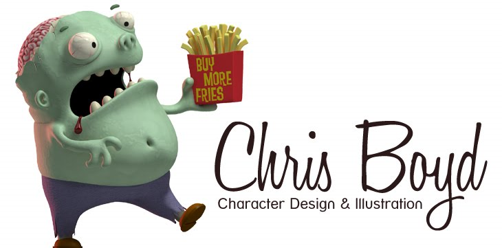 Chris Boyd - Character Design and Illustration