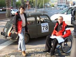 Jordi Munell amb Pep Busquets
