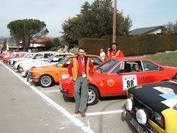 Equip de competició de RallyClàssics amb LANCIA BETA 2000
