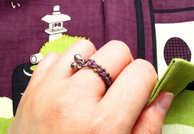 Eggplant Ring