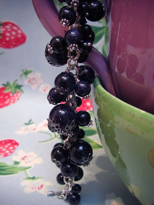 Blueberry Fields bracelet from Bunnies Can Dream