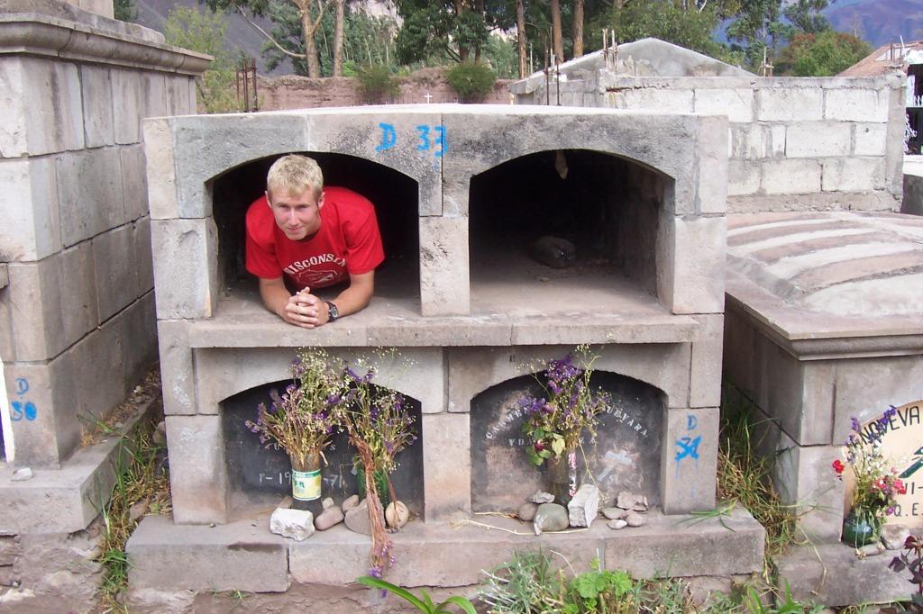 Graveyard in Urabamba