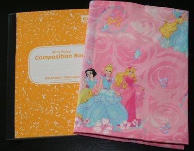 [princess+notebook+cover]